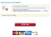 Säker Webbplats För Att Köpa Generiska Läkemedel / Zocor Försäljning