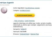 Pharmacie Approuvé – Aygestin Commander – Airmail Livraison