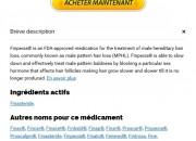 Finpecia Generique Pharmacie