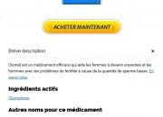 où puis-je obtenir Clomid. Prix Du Clomid 50 mg En France