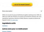 Cephalexin France Acheter