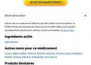 Prix Indocin 25 mg En Pharmacie | Expédition Immédiate | Économisez de l'argent avec Generics