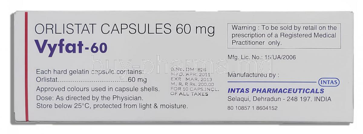 Where To Buy Xenical 60 mg With Prescription